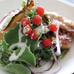 ワオン - 各地の新鮮な有機野菜をつかったメニュー・・・普段口にする事のない珍しい野菜に出会えるかもしれません