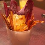 コメドル - 野菜チップス