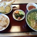 丸亀 - 料理写真:うどん定食750円