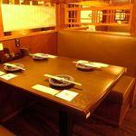 白木屋 - お寛ぎいただけるお席が充実!※写真はイメージです