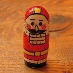 クルミドコーヒー - 人形型の可愛らしい伝票です