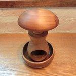 クルミドコーヒー - 木製のくるみ割り器