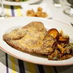 ローブリュー - Oreille de porc pane 豚の耳のパン粉焼き