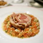 ローブリュー - Fromage de tete 温製豚の頭のテリーヌ