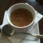 カフェ アクロス ザ ユニバース - ランチのスープ