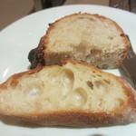 ルナール ブルー - ヨシダ工房のバゲットと、ユノディエールのドイツパン
