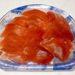 角上魚類 - メバチ鮪切落し ¥580