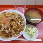 中華 八十番 - 徳丼¥500