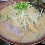 麺屋ばやし - 醤油ら~めん(500円)+大盛り(10円)