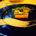 メイプルラウンジ - サーモンと旬野菜のゼリー寄せ