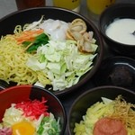 惚太郎 - ★食べ放題メニューは、お好み焼き・もんじゃ焼き・焼きそば・デザート巻きなど、108種類!ソフトドリンク飲み放題がついてお一人様2100円