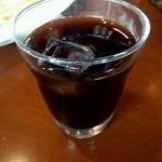 seasons diner COMODO - ランチセットのアイスコーヒー