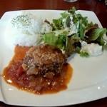 seasons diner COMODO - トマト煮込みハンバーグ900円