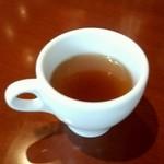 seasons diner COMODO - ランチセットのスープはデミタスカップで!