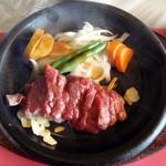 三田屋本店 - ランチステーキコース・メイン