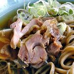 レストランまめふく - 冷たい肉そば(大盛り)