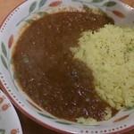 20927619 - ランチ、キーマカレー500円、スープ、サラダつき