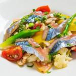 サントスピリト - <秋のお勧め>さんまと根菜のマリネ
