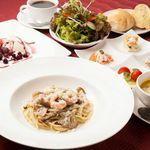 Vertigo - 料理写真:♡6th Anniversary♡スペシャルパスタコース。4種の前菜、新鮮サラダ、季節のスープ、バケット、パスタ、デザート、ドリンクで2100円(税込)