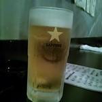 待風 - キンと冷えた生ビール