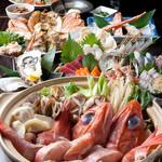積丹浜料理 第八 太洋丸 - 豪華食材の競演!極上コース