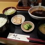 和菜酒だいにんぐみなみ - サバ味噌煮定食