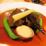 プティ・コトン - 国産牛ほほ肉の赤ワイン煮込み