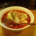 炎麺 - トマト麻辣麺(600円)