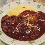 キッチン ウフロワ - 料理写真:オムバーグハヤシ