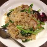 橙 - 豚バラ青菜炒飯