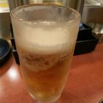 やきとり家 すみれ - ビール(中)