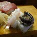 漁灯 - 料理写真:えび、あわび