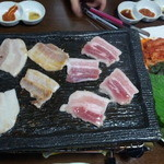大阪一  - お肉がジューシーです。