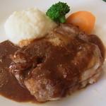 20940767 - 若鶏のソテー マスタードソース
