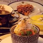 タバーン タータン - 料理写真:ランチのセットメニュー全部で300円