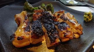 鶏処 志庵 - 炭焼でとても香ばしいです!