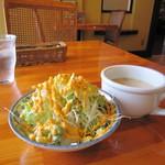 20943157 - ランチサラダ&スープ