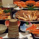 坂本屋 - 素材を厳選し、かにの美味しさや風味を、少しでも落としたくないとゆうこだわりのかに料理を提供させて頂くプランです。