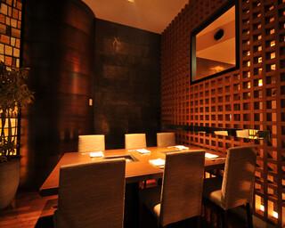 天空焼肉 星遊山 - 接待、会食様々な場面に対応の半個室 4~6名席