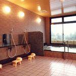 坂本屋 - 展望温泉大浴場のお風呂は24時間何時でもご入浴頂けますので、時間を気にせずごゆっくりお入り頂けます。
