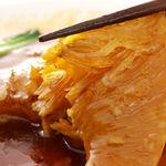 中国薬膳料理 星福 - アガリクス茸入りフカヒレ姿の煮