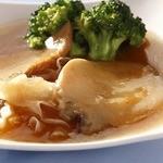 中国薬膳料理 星福 - アワビと白木くらげのオイスターソース煮