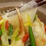 中国薬膳料理 星福 - 蟹肉と春雨の鍋