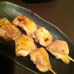 北海道バル - 北海道若鶏の串焼き