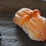 寿司貞 - 国産の赤貝