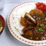 札幌市役所本庁舎食堂 - カツカレー_530円