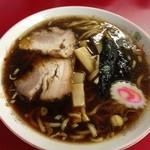ラーメンつり吉 - 醤油ラーメン 太麺¥600