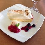ラ・サンセール - レモンとレアチーズのケーキ
