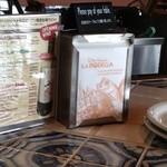 ラ ボデガ - お会計は、テーブルで!