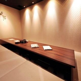 【個室完備】最大46名様!カラオケもOKの防音個室9室あり!